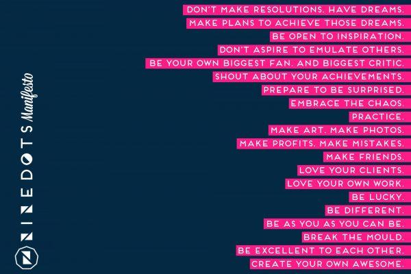 NineDots Community Manifesto
