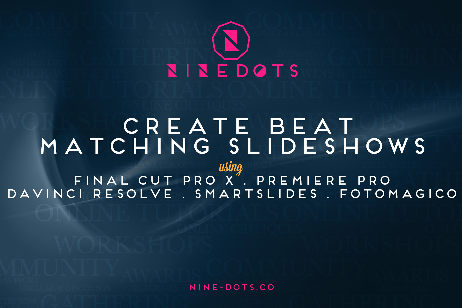 creat beat matching slideshows header
