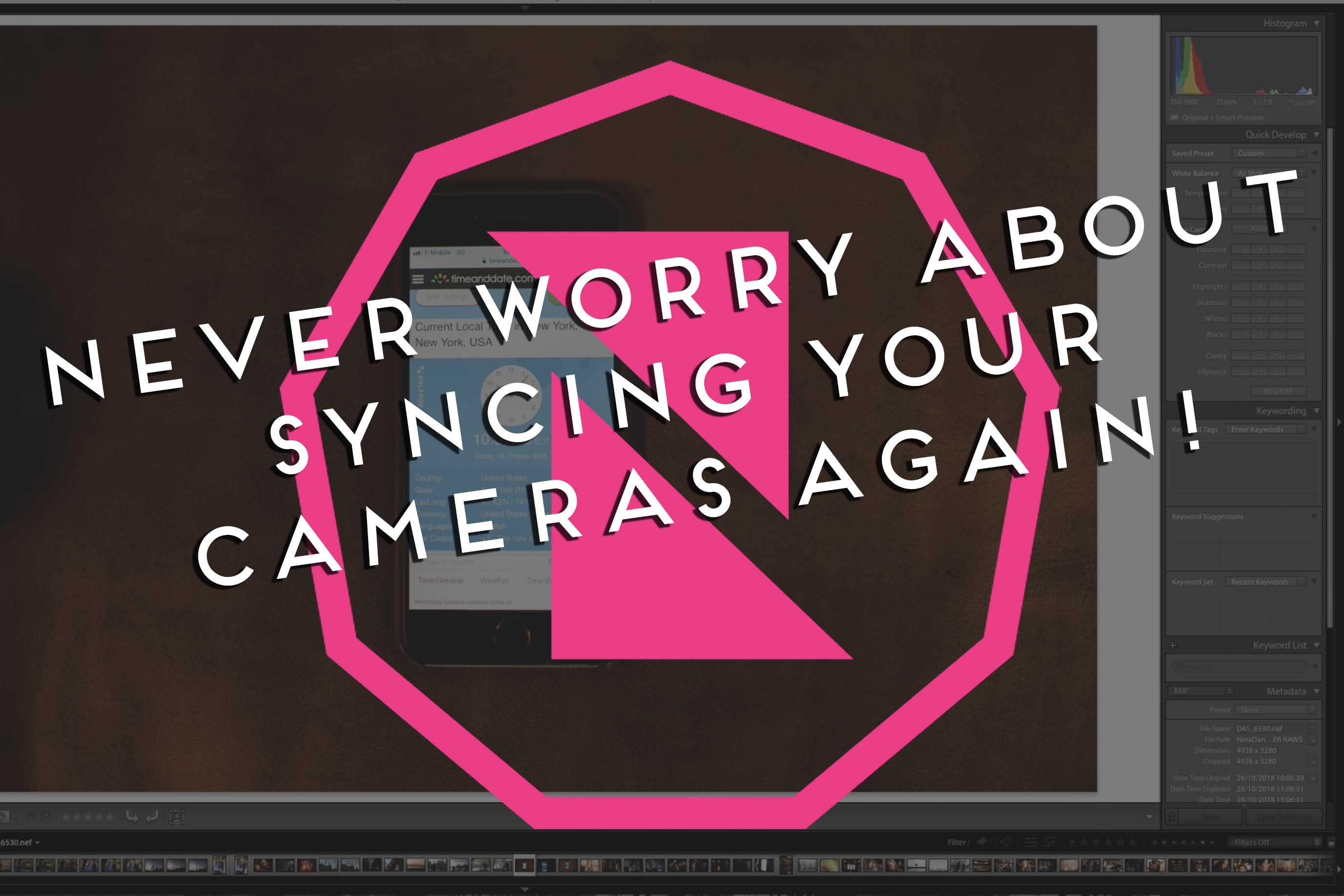 camera sync tutorial photomechanic lightroom
