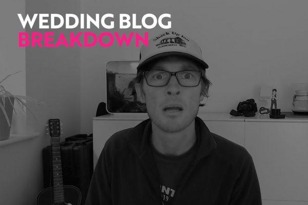 wedding blogging and shooting tips