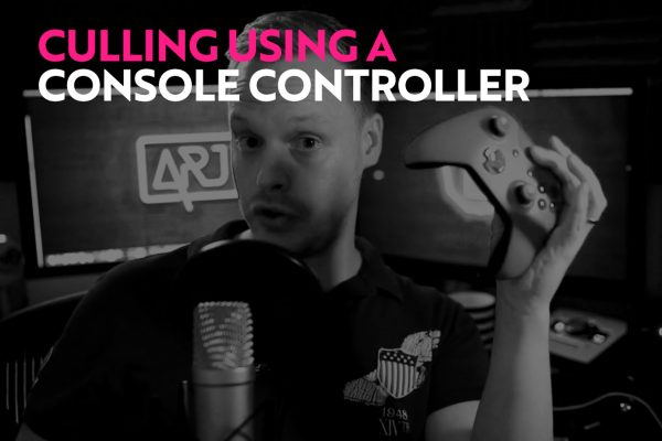 Culling in Photomechanic with a Console Controller