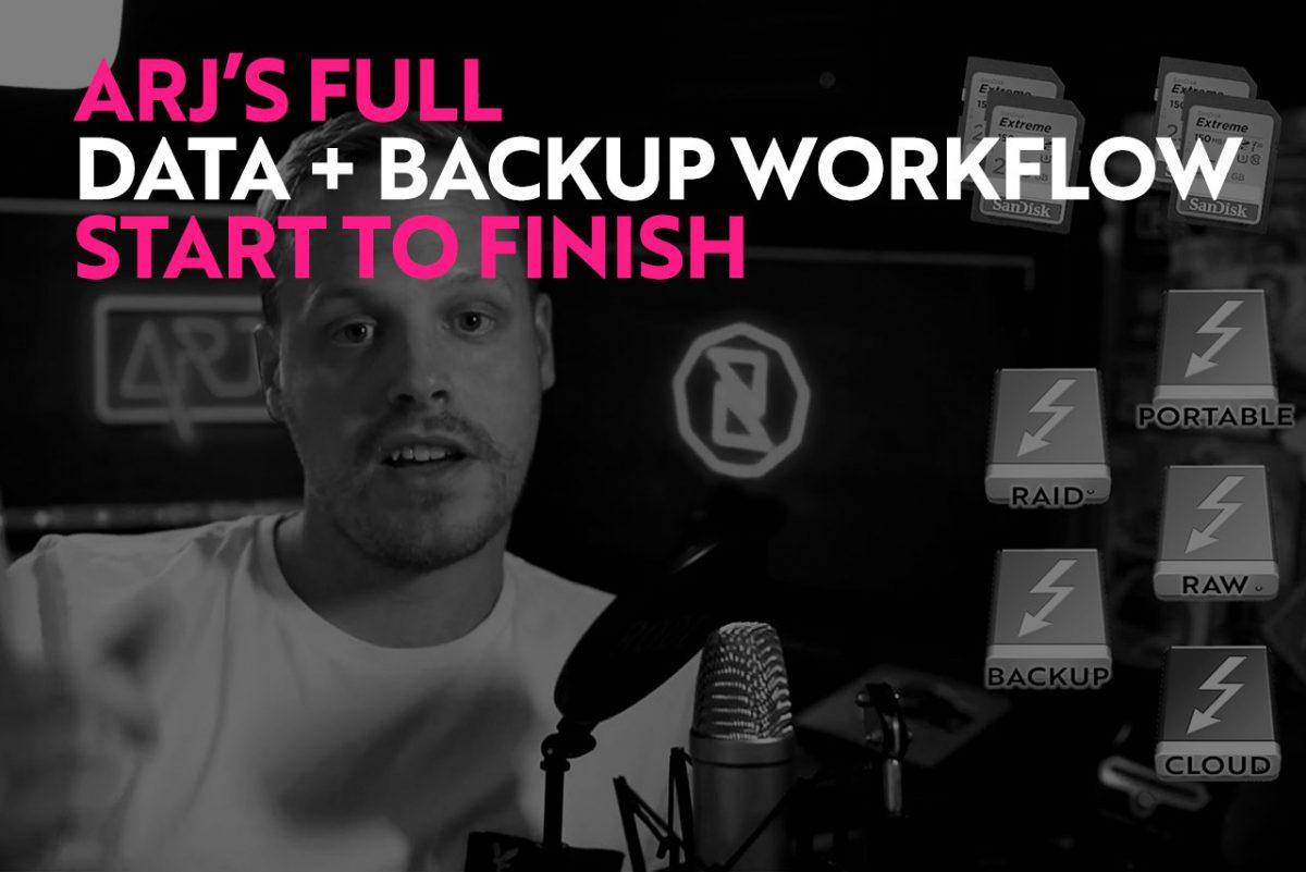 Backup Workflow for Wedding Photographers
