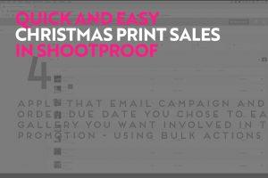 christmas print sales shootproof