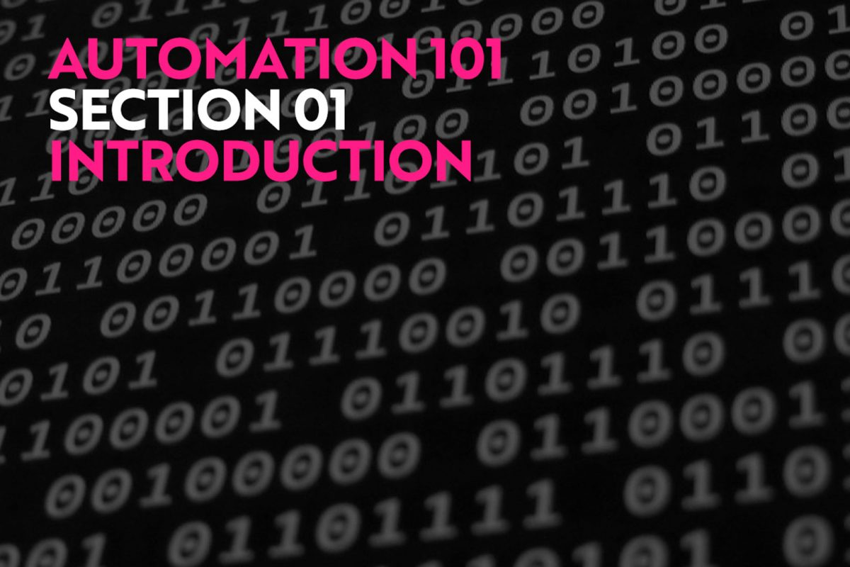 Automation for Wedding Photographers Intro