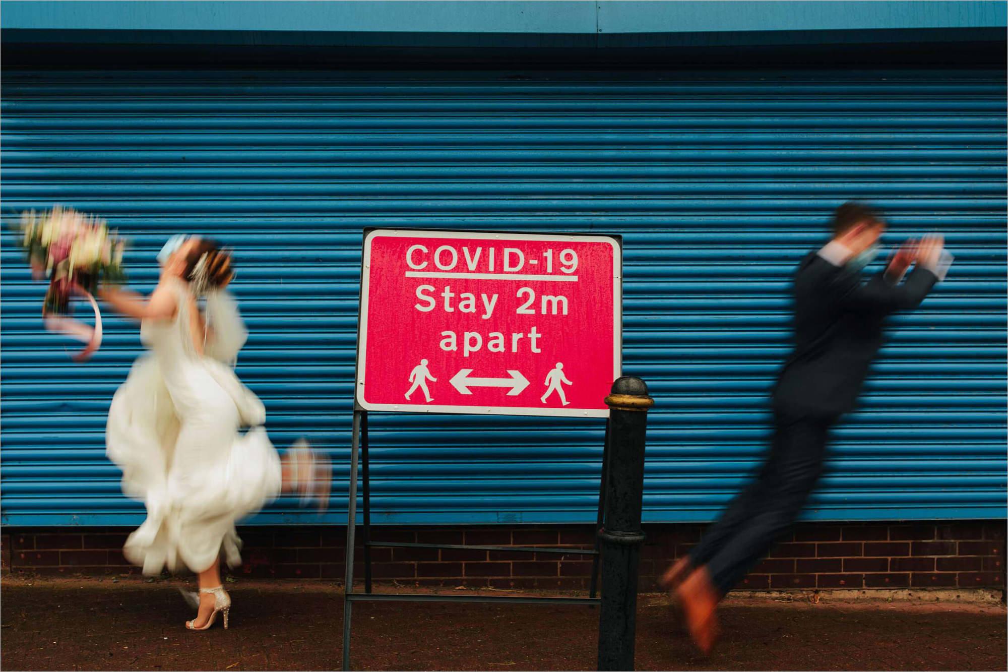 COVID Wedding Portraits