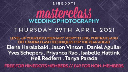 wedding photography masterclass